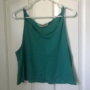 nwt turquoise tank top